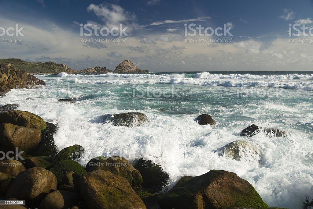South Western Australian Coastline royalty-free stock photo