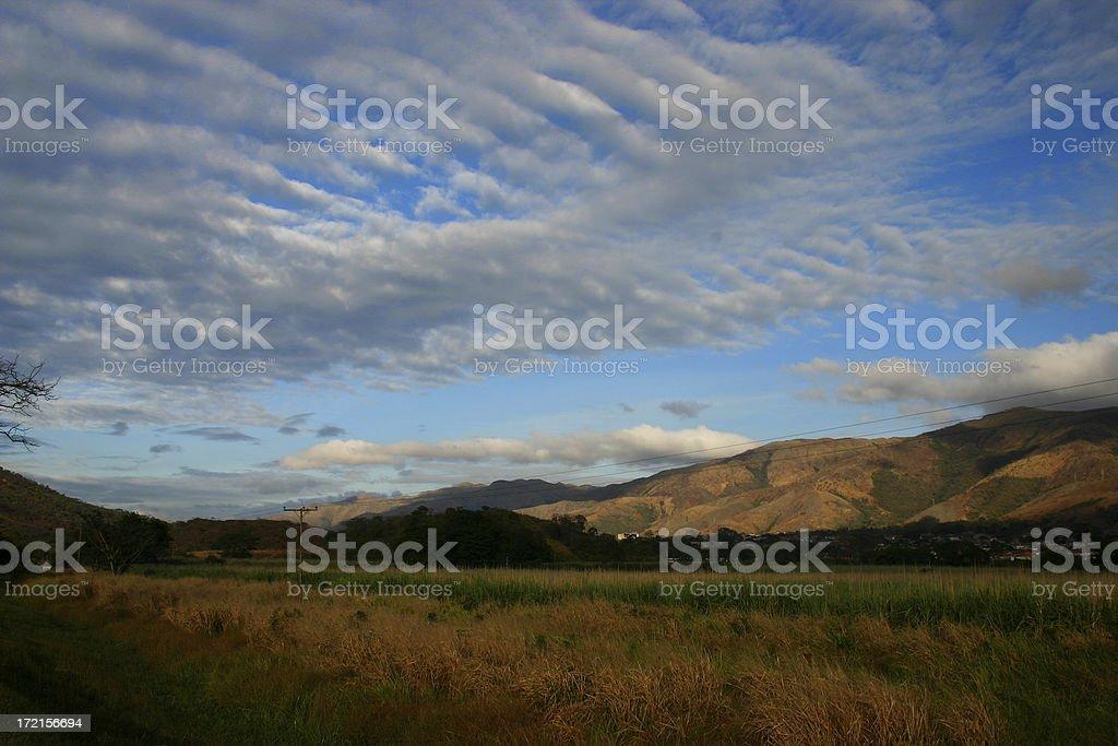 Southamerica country landscape stock photo