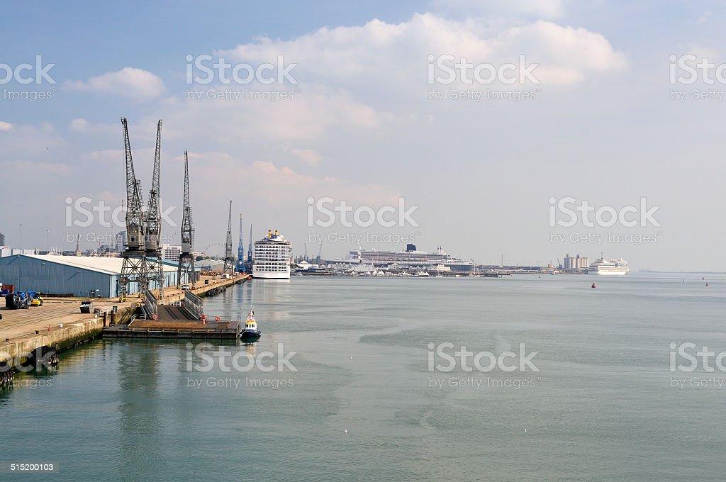 Southampton Cruise Terminal stock photo