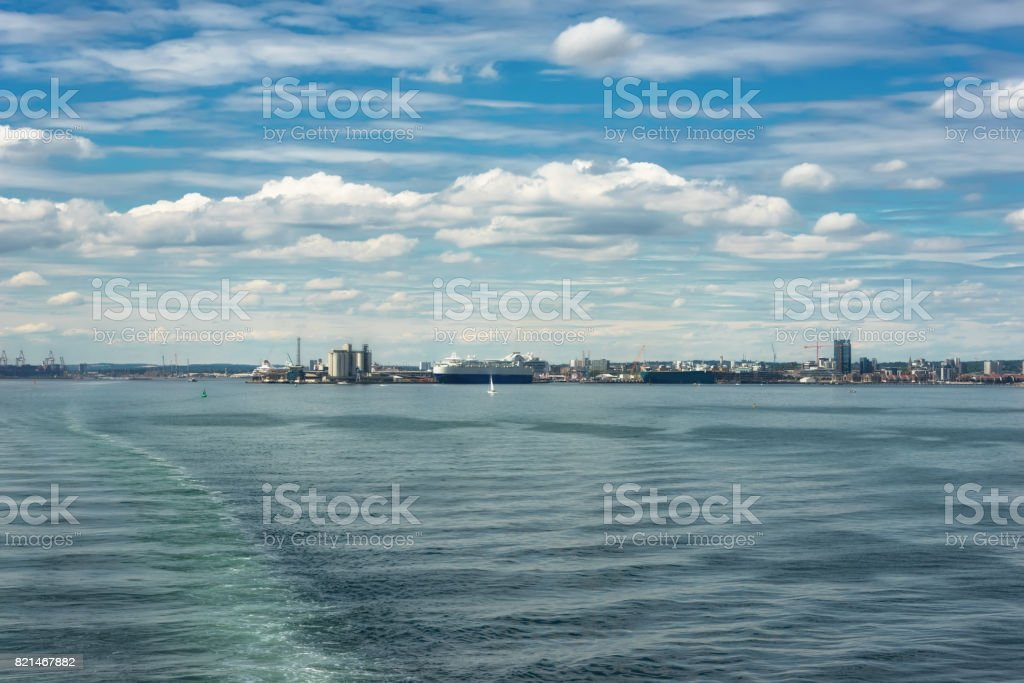 Southampton Water stock photo