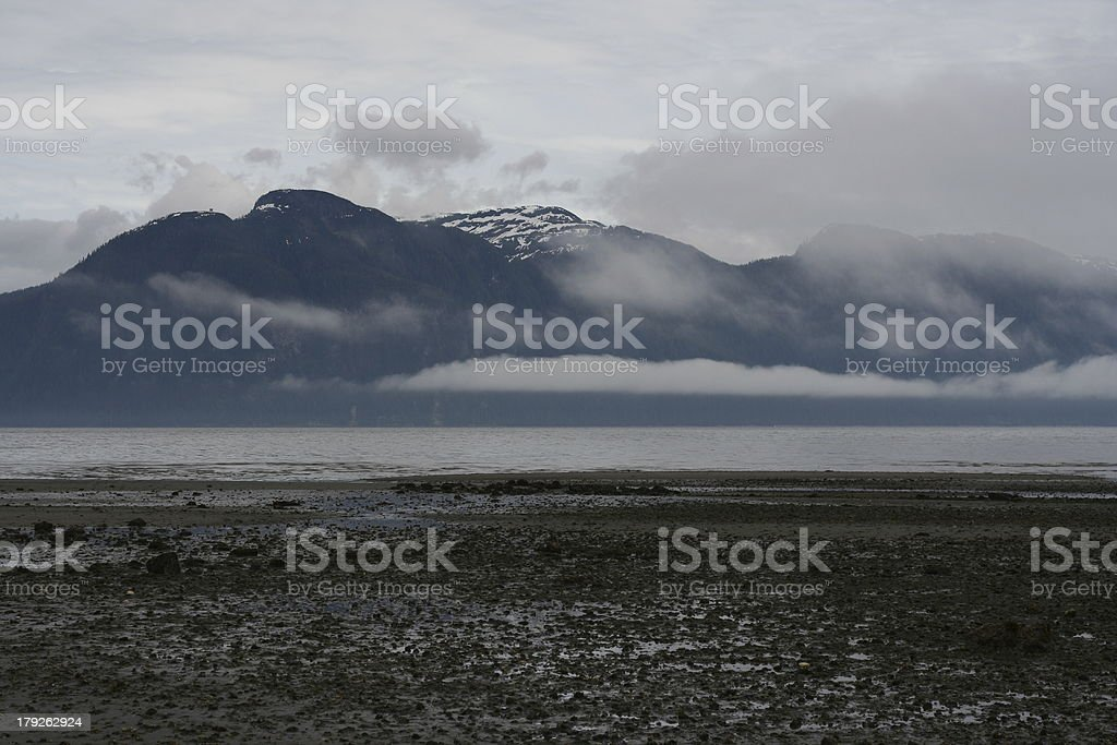 Southeast Alaska Island Landscape royalty-free stock photo