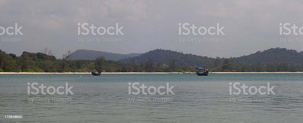 Southeast Asia Beach stock photo