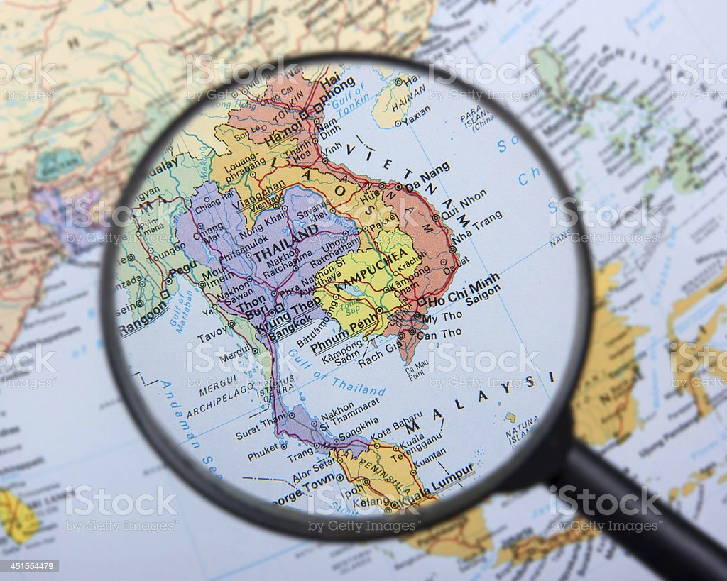 Southeast Asia stock photo