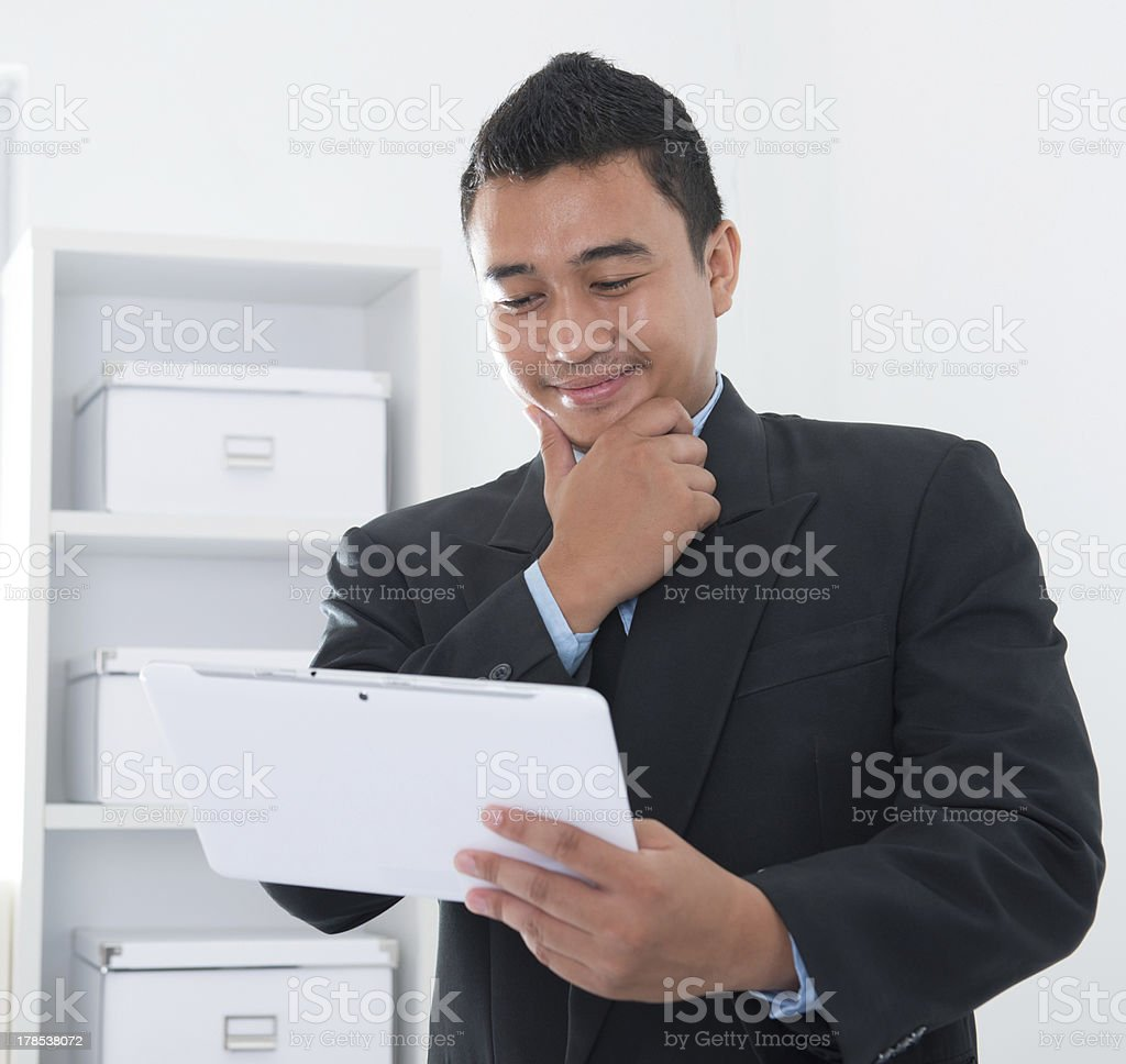 Southeast Asian man royalty-free stock photo