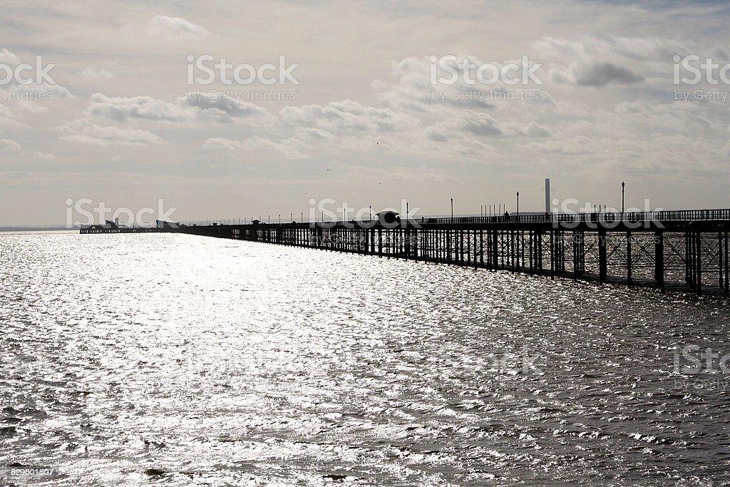 Southend Pier foto stock royalty-free