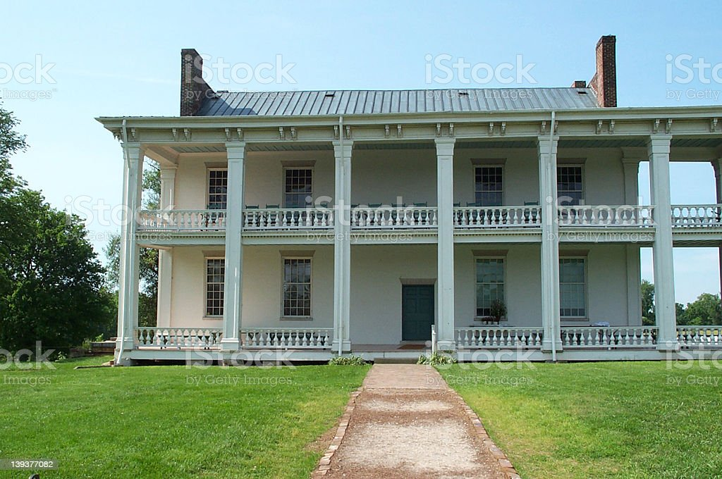 Souther Mansion 02 stock photo