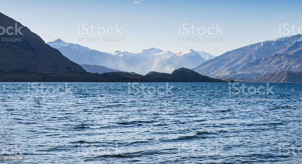 Southern Alpes stock photo