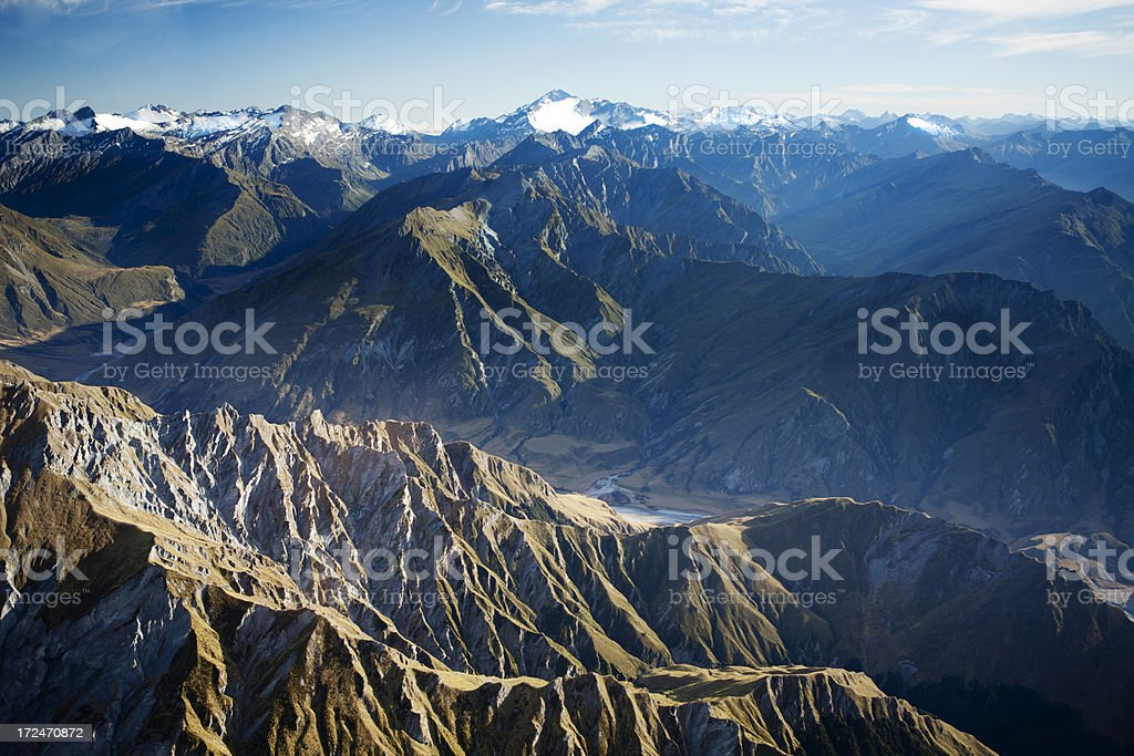 Southern ALps royalty-free stock photo