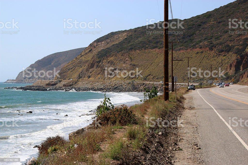 Southern California Coastline stock photo