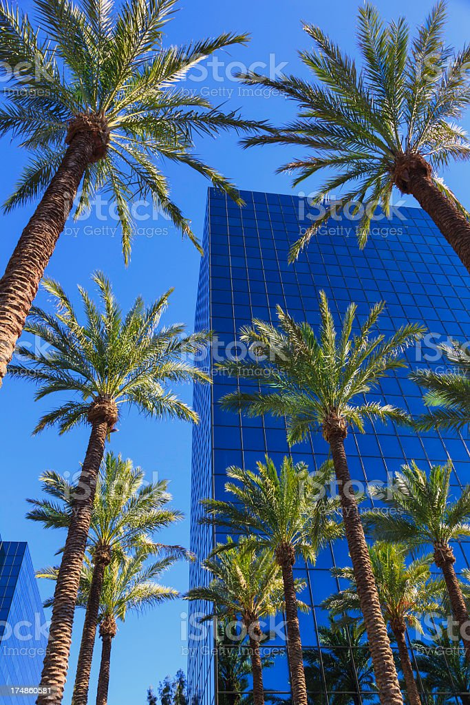Southern California office building stock photo