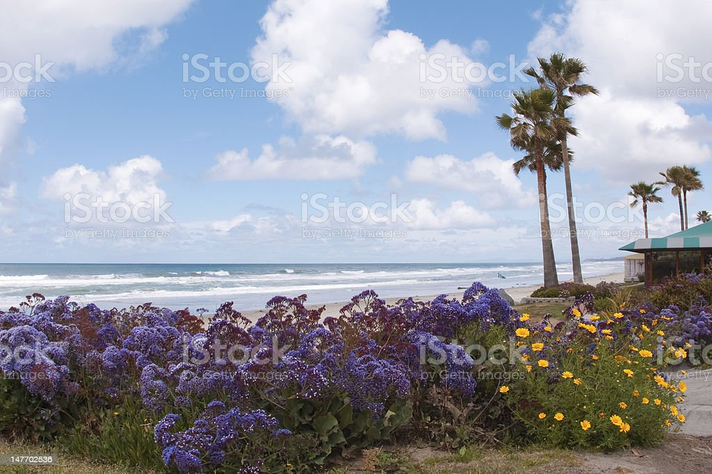 southern california shorlines. stock photo