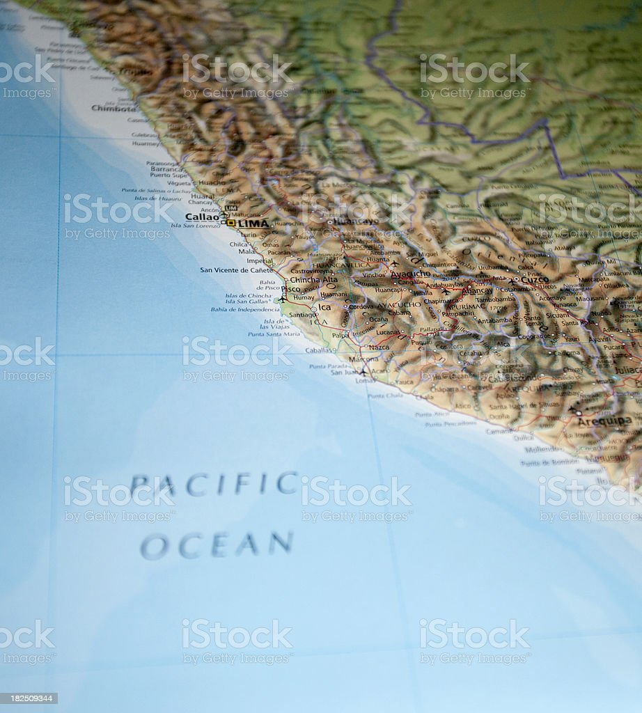 southern chile and argentina stock photo