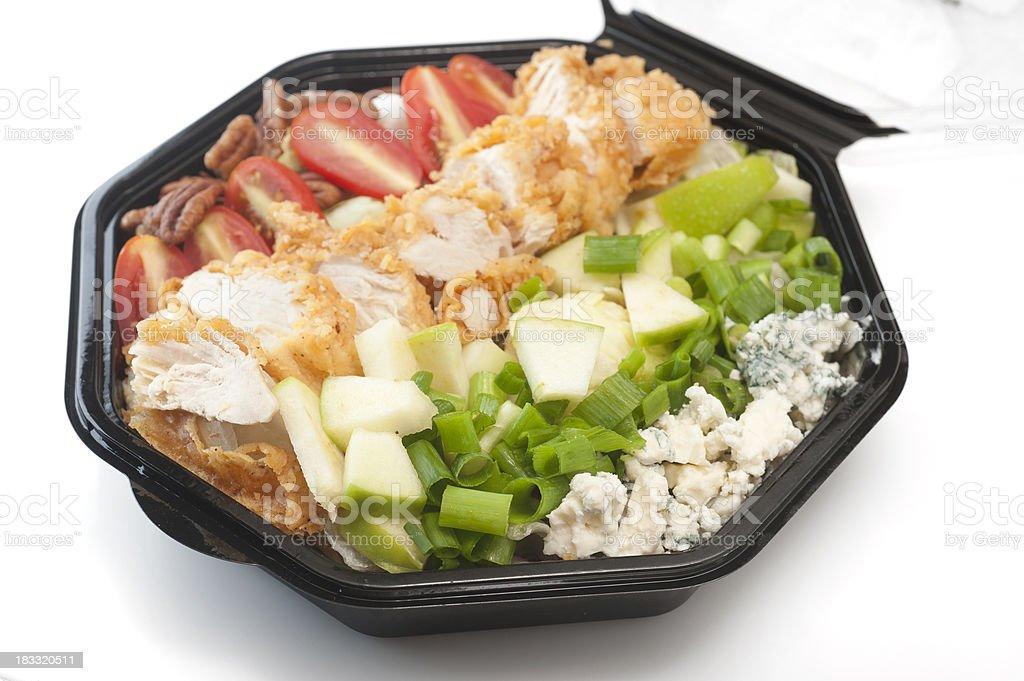 Southern Cobb Salad royalty-free stock photo