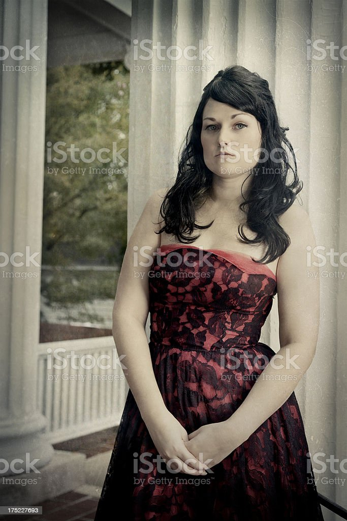Southern Gothic Style stock photo