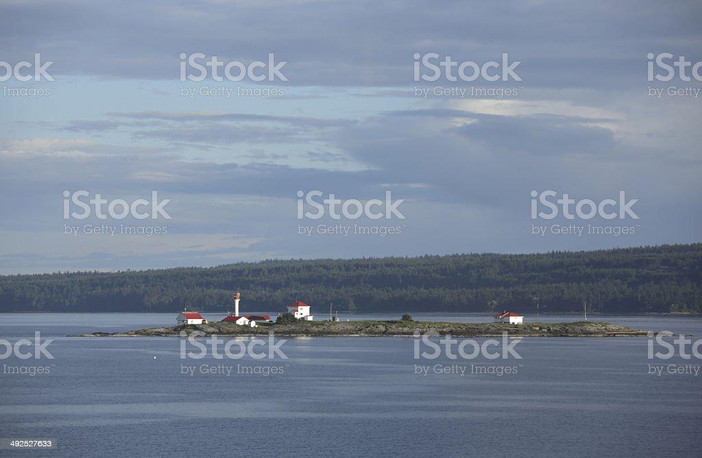Southern Gulf Islands and British Columbia Coast, Canada stock photo