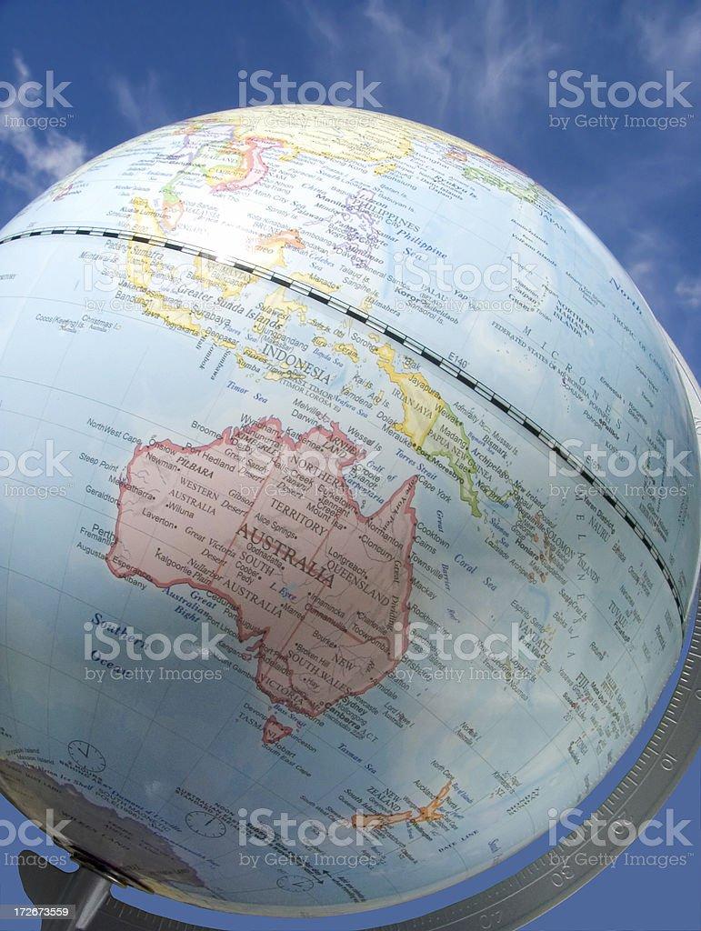 southern hemisphere stock photo