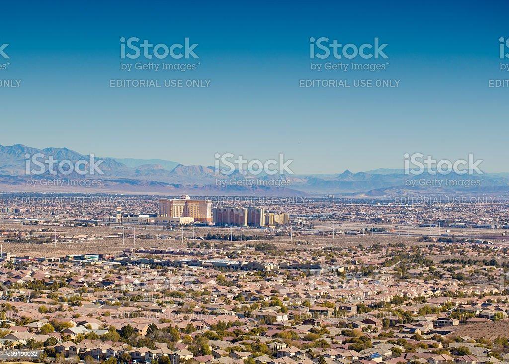 Southern Highlands Las Vegas stock photo