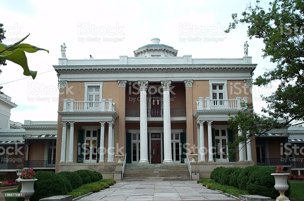 Southern Mansion 01 stock photo