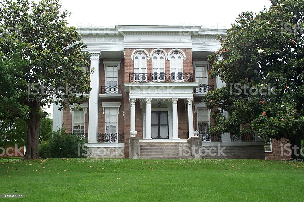 Southern Mansion 04 stock photo