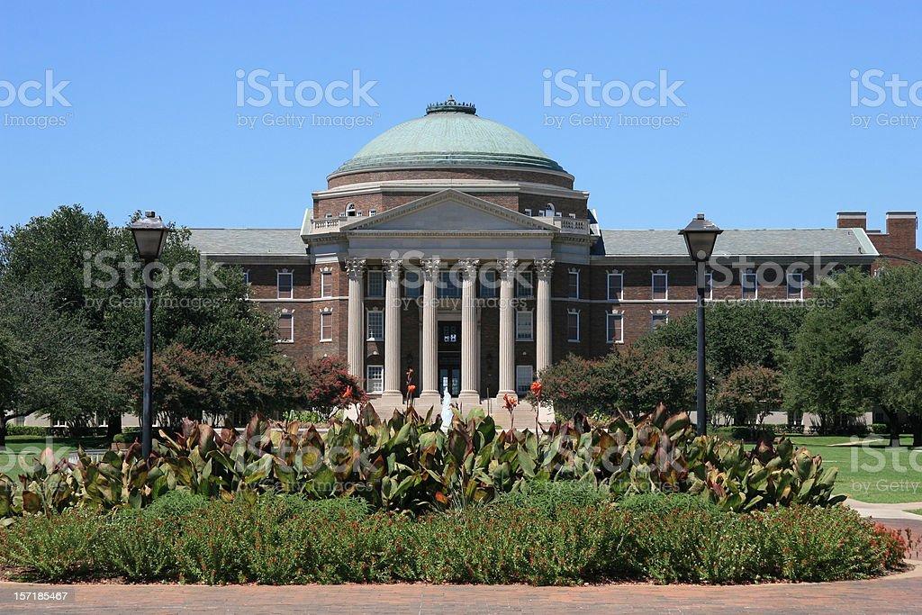 Southern Methodist University in Dallas stock photo