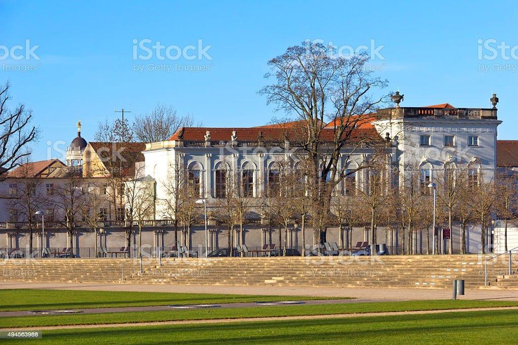 Southern part of Potsdam, Brandenburg stock photo