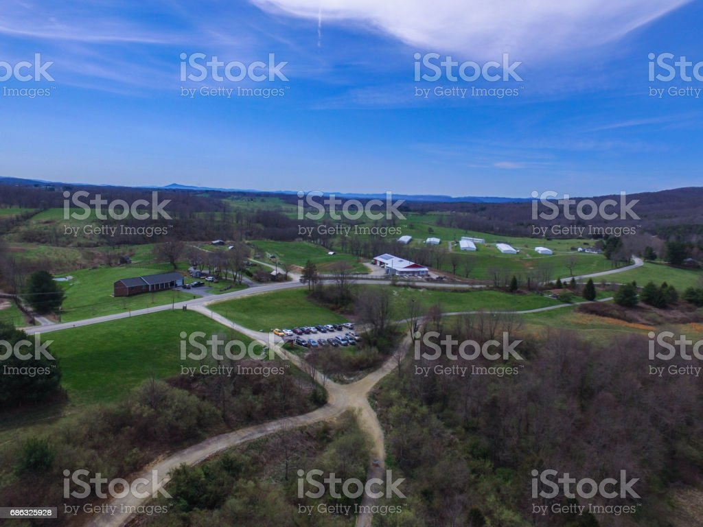 Southern Virginia Day stock photo