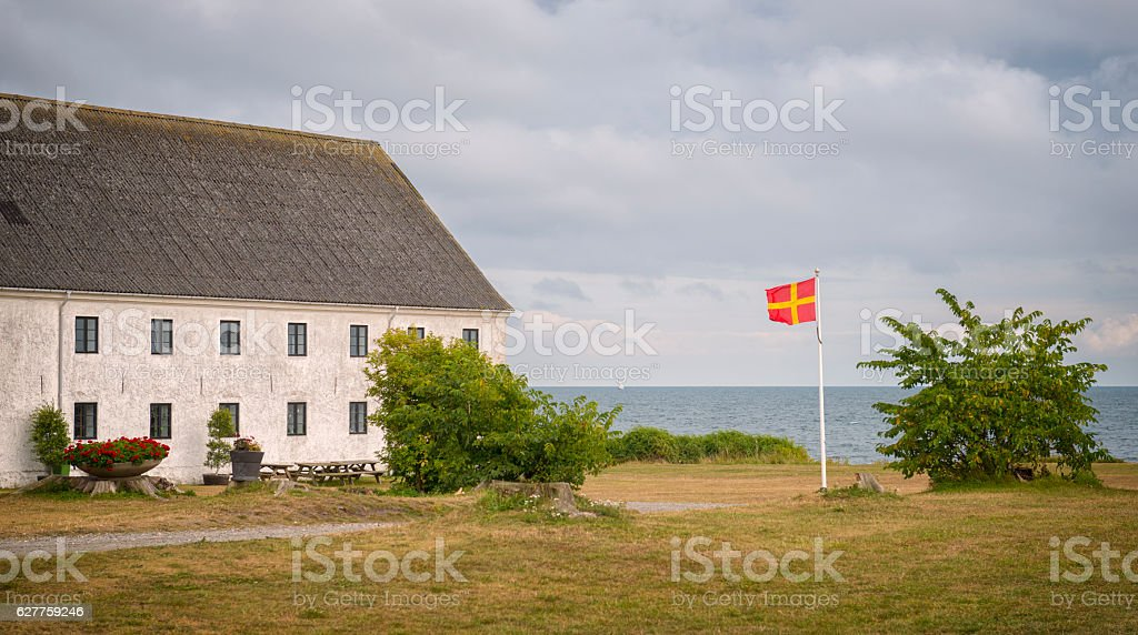 Southernmost point of Sweden stock photo