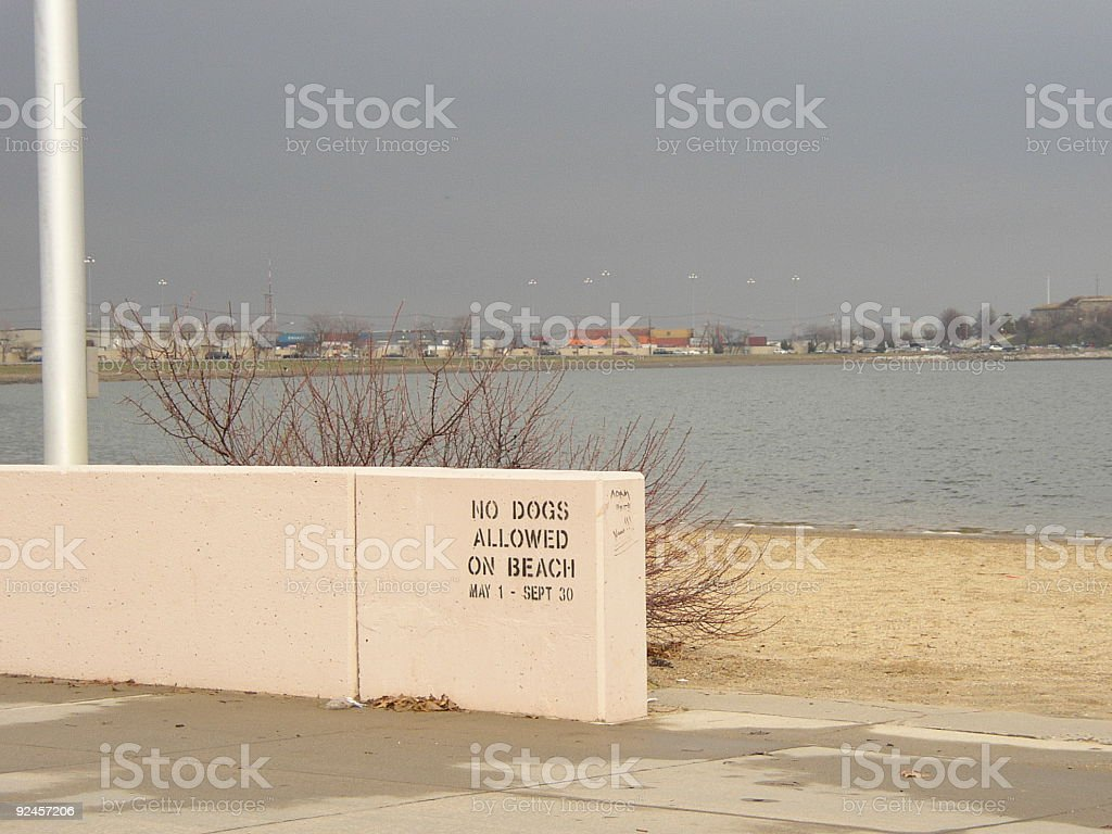 Southie Beach royalty-free stock photo