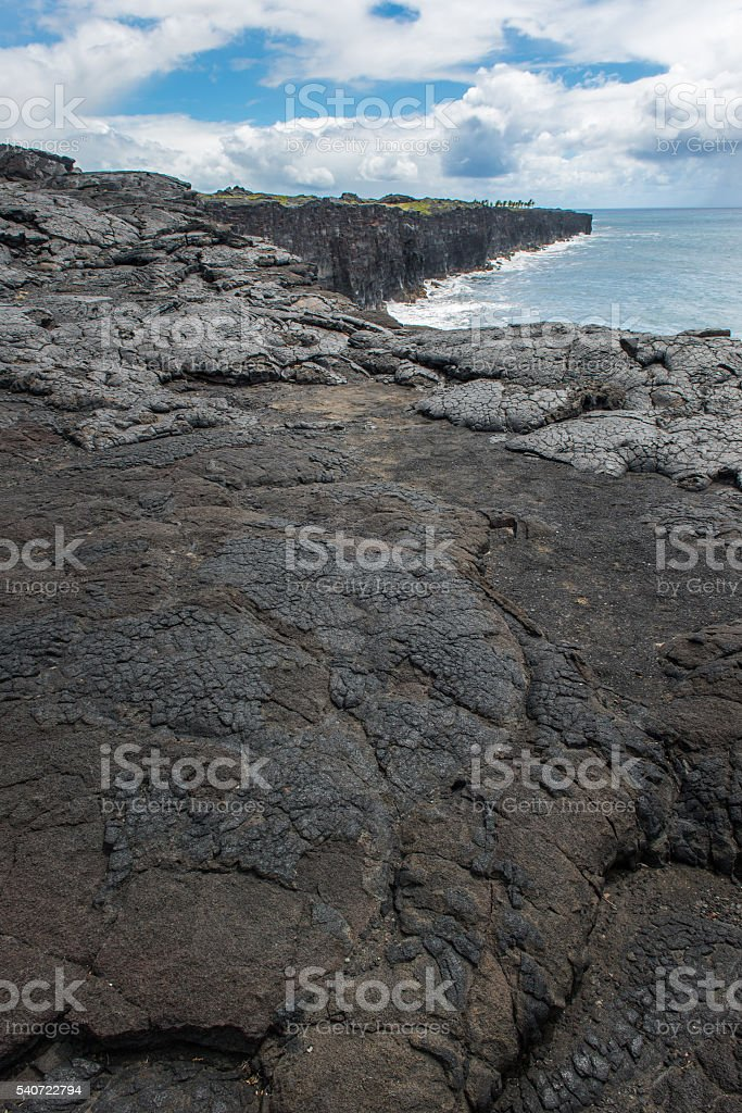 Southpoint in Hawaii USA stock photo