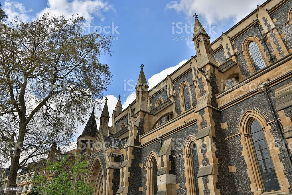 Southwark Cathedral, London, United Kingdom stock photo