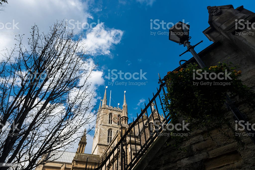 Southwark Cathedral stock photo
