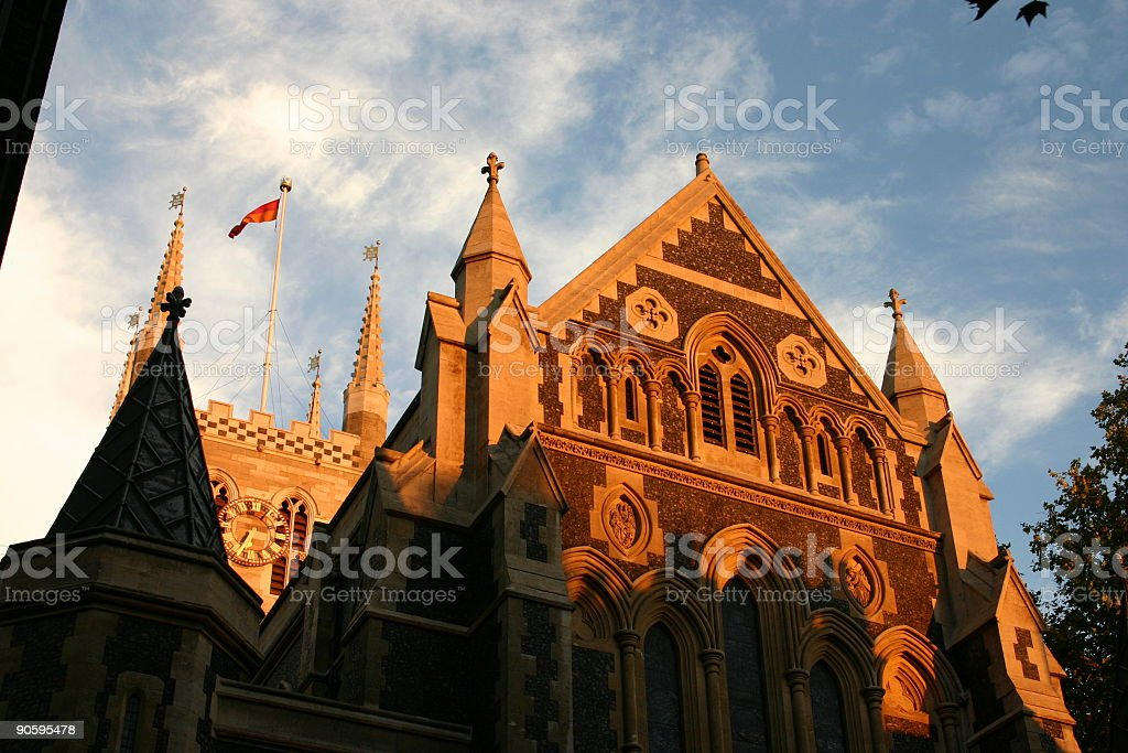 Southwark Cathedral royalty-free stock photo