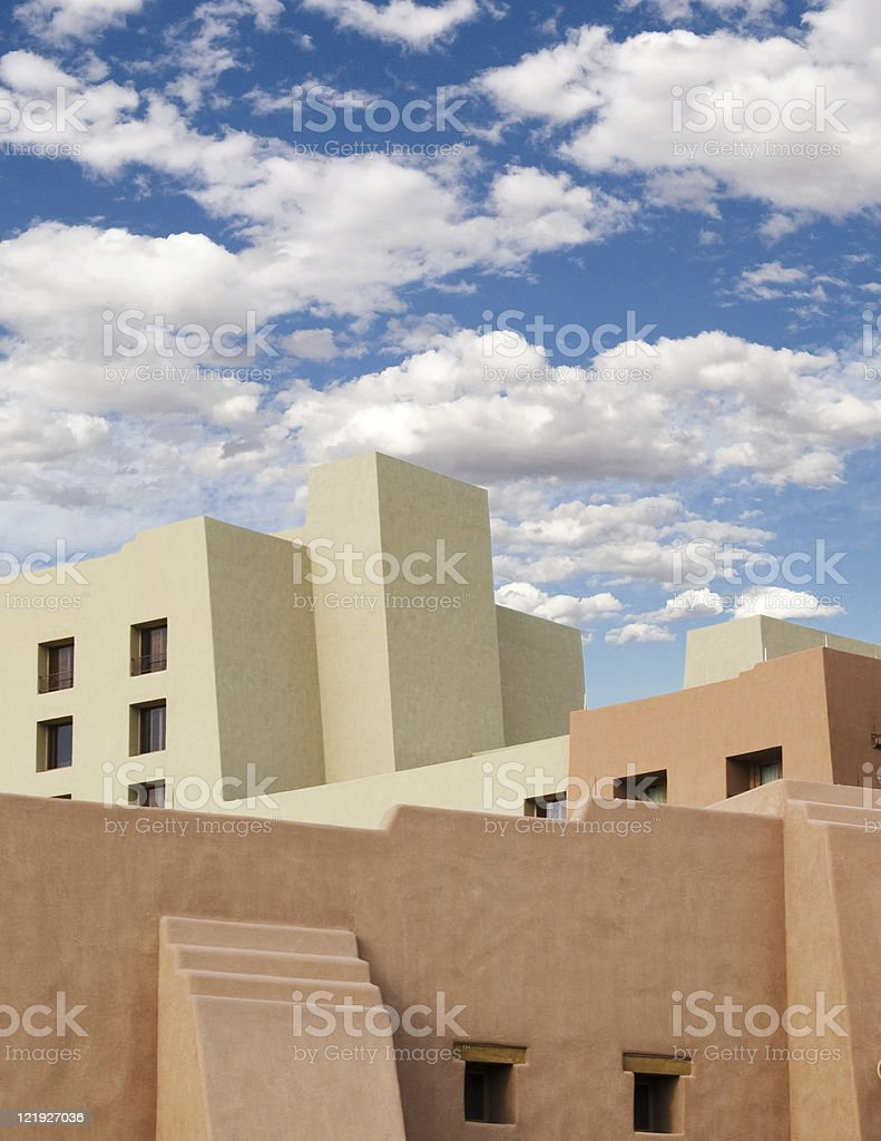 Southwest Adobe Stucco Building royalty-free stock photo