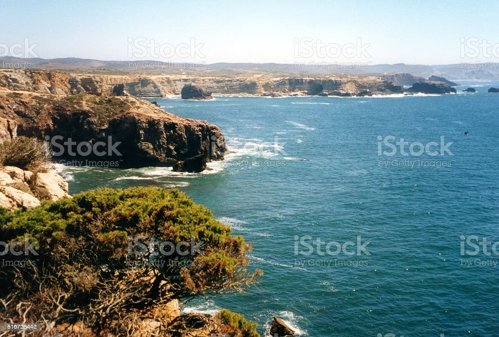 Parque Natural do Sudoeste Alentejano e Costa Vicentina, Portugal stock photo