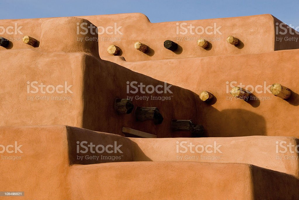 Southwest architecture royalty-free stock photo