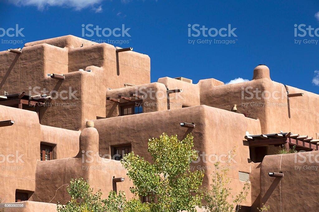 Southwest architecture stock photo