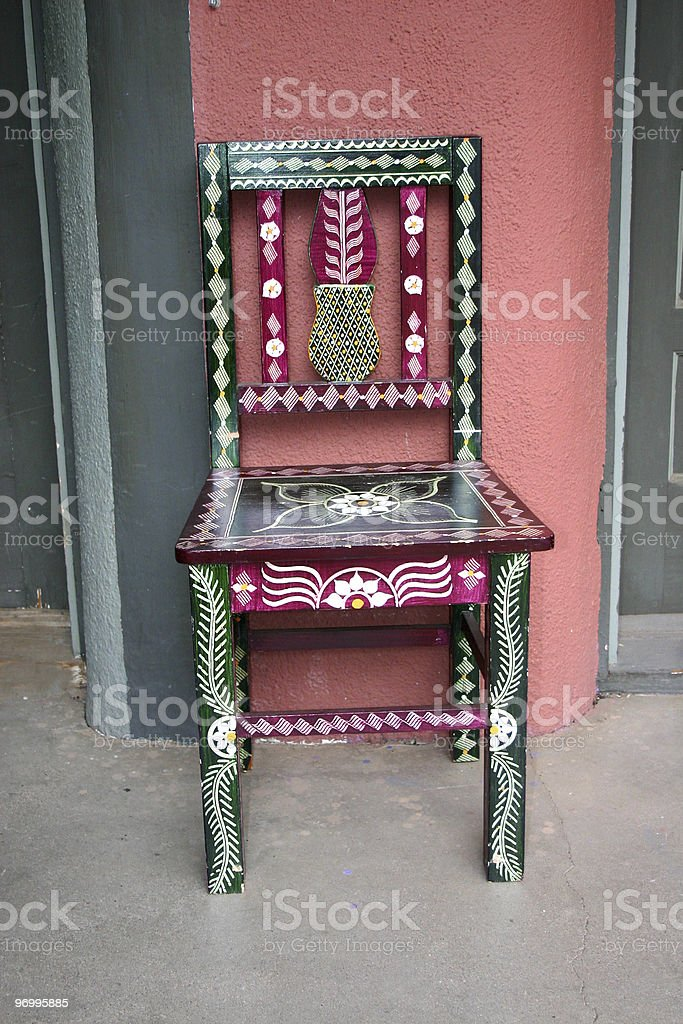 southwest chair royalty-free stock photo