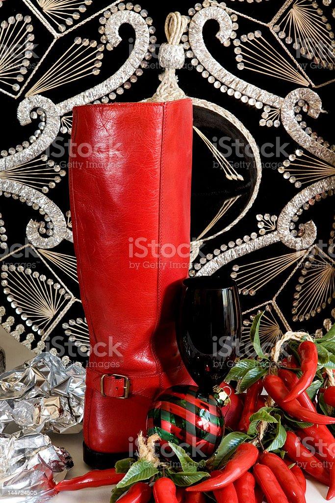 Southwest Christmas Season stock photo