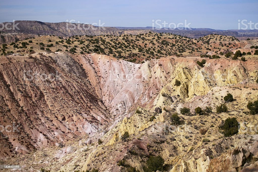 southwest desert landscape royalty-free stock photo