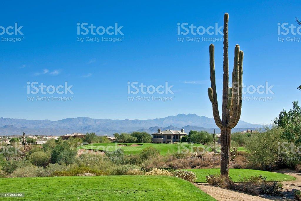 Southwest Golf royalty-free stock photo