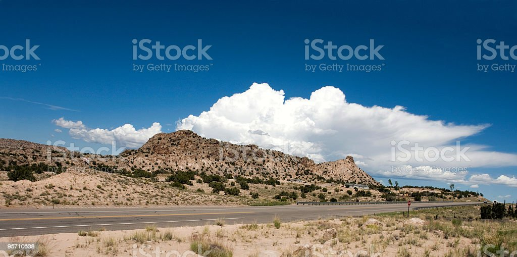 Southwest Highway royalty-free stock photo