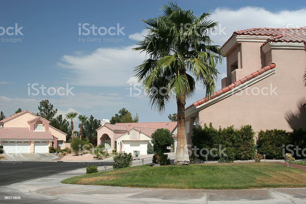 Southwest Homes stock photo