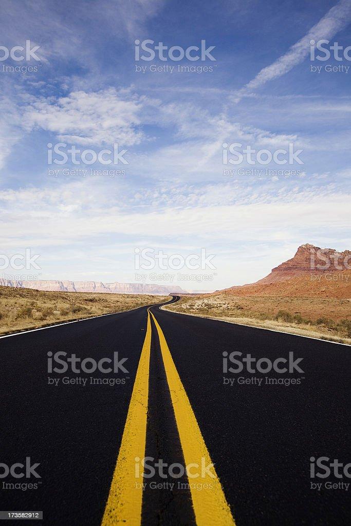Southwest Road royalty-free stock photo