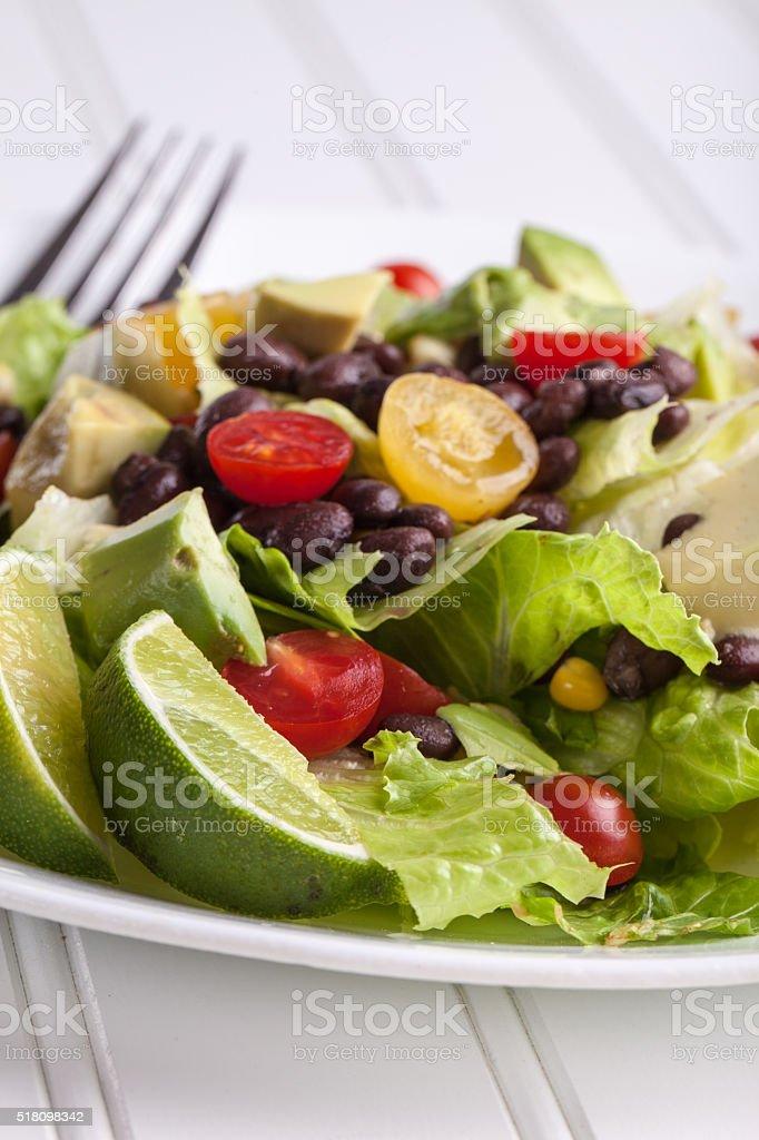 Southwest Salad close up stock photo