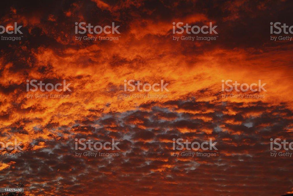 Southwest Sky royalty-free stock photo