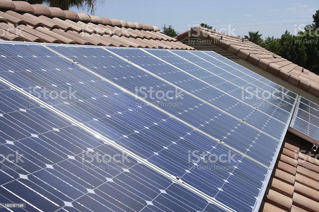 Southwest Solar Panels royalty-free stock photo