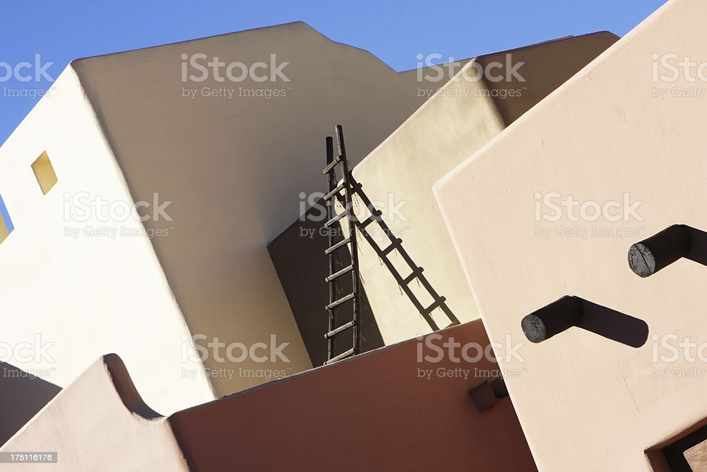 Southwest Stucco Building Architecture stock photo