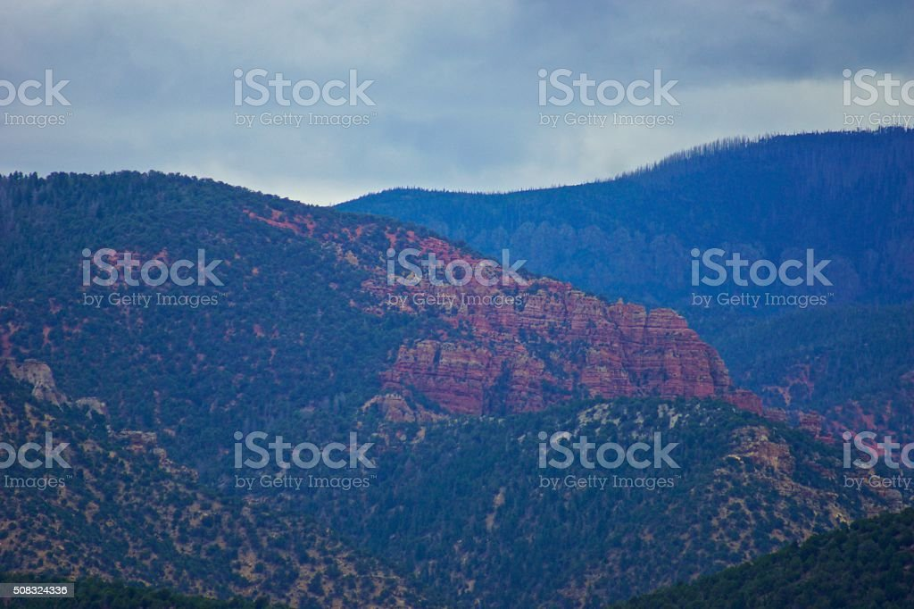 Southwest Utah Lion Land stock photo