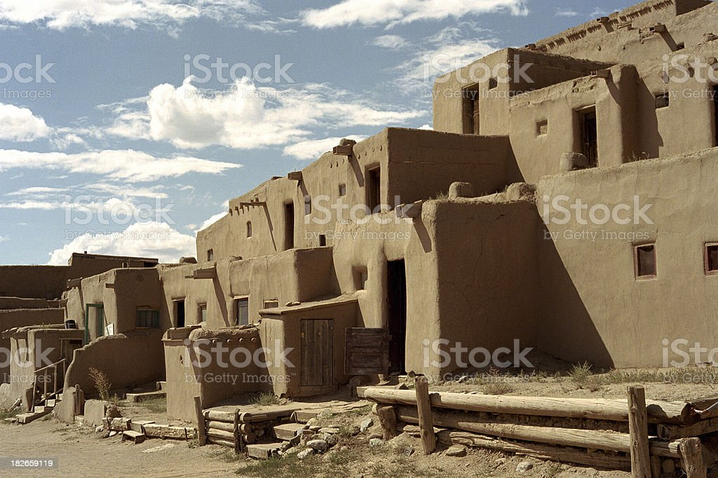 southwestern adobe stock photo