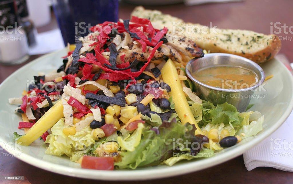 Southwestern Chicken Salad stock photo